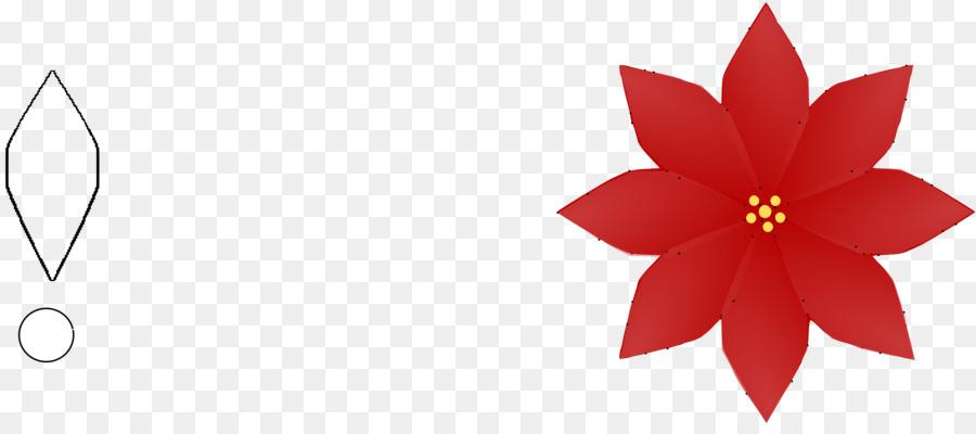 Poinsettias clipart clip art. Christmas poinsettia flower red