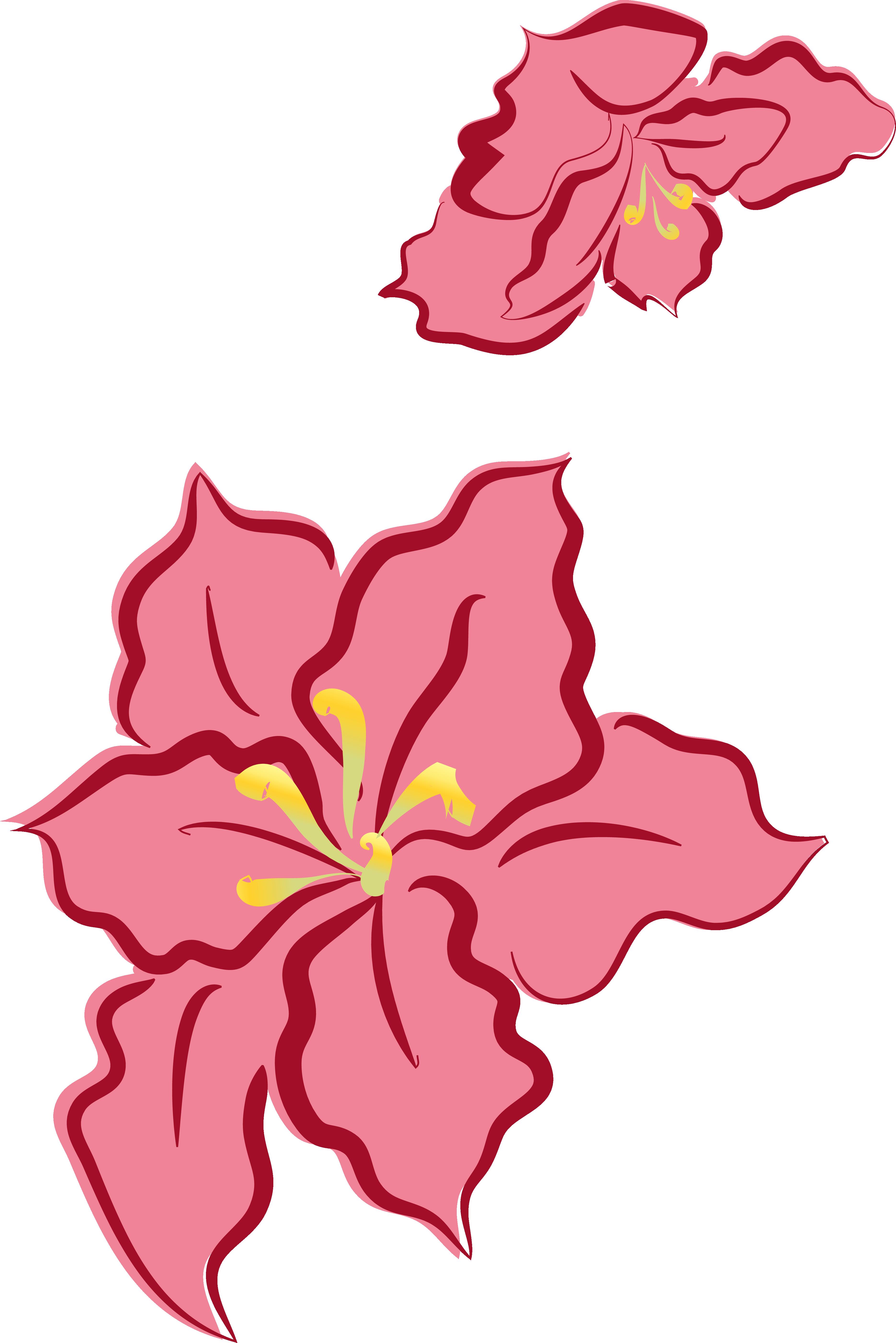 Poinsettias clipart outline. Designed for christmas decoration
