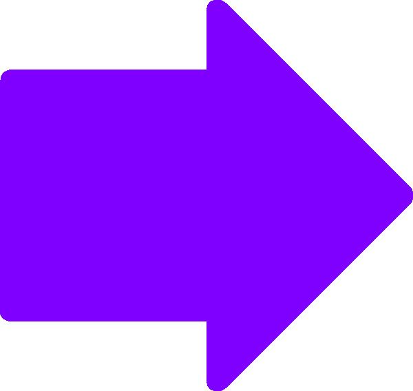Square clipart purple. Right arrow clip art
