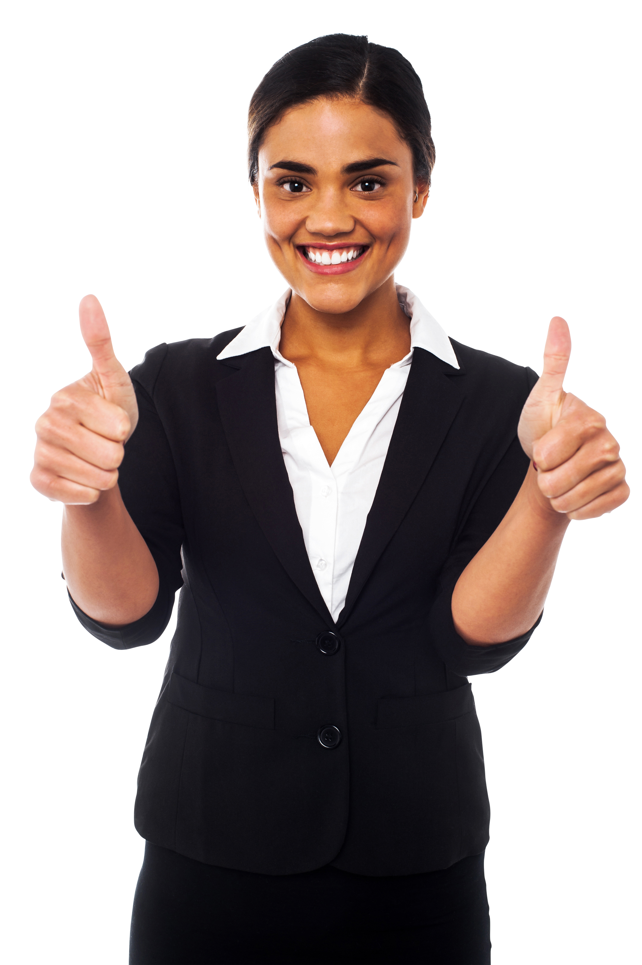 Women thumbs up png. Pointing clipart gesture