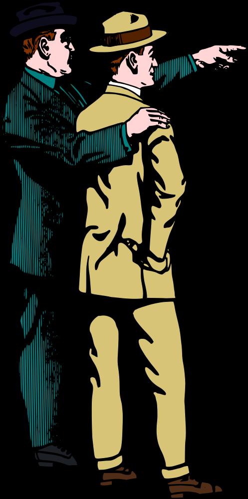 Onlinelabels clip art man. Pointing clipart hat