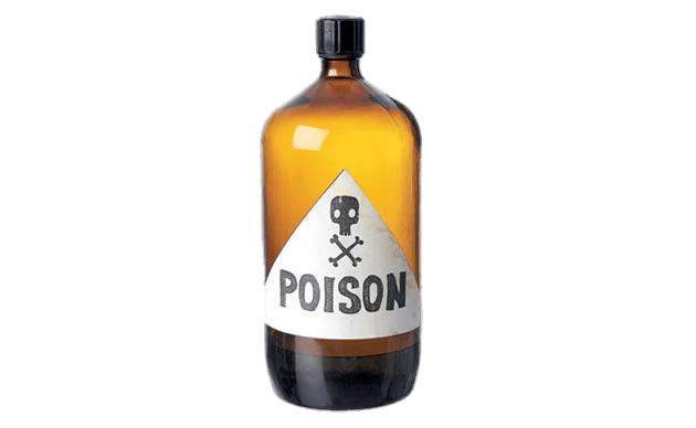 Poison bottle png. Of transparent stickpng