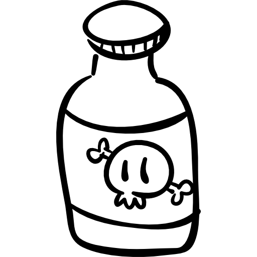 Poison bottle png. Of halloween free icons
