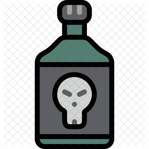 Poison bottle png. Icon culture religion festivals