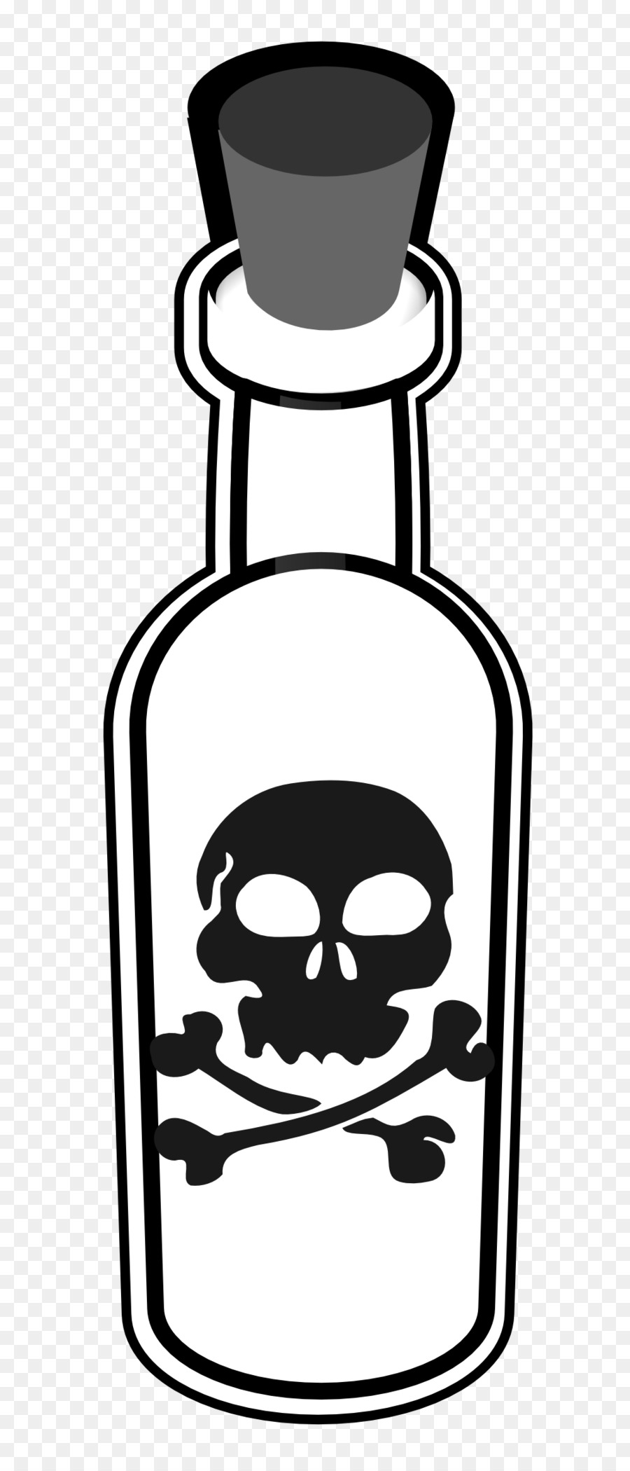 Poisoning free content clip. Poison clipart