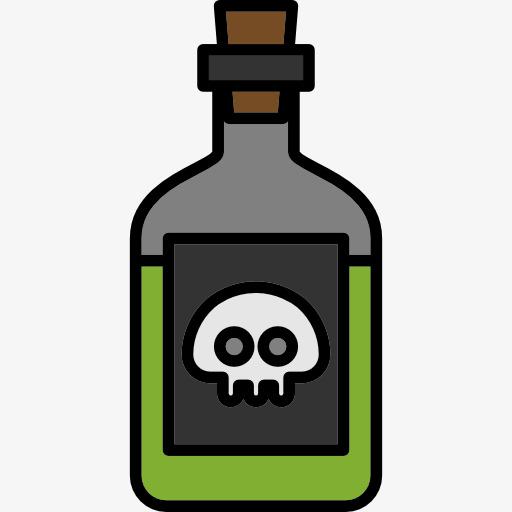 Dichlorvos pesticide png image. Poison clipart
