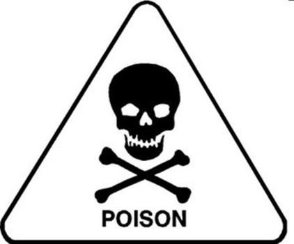 Poison clipart. Control