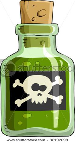 Clip art free panda. Poison clipart