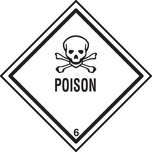 Poison clipart black and white. Free pictures symbol images