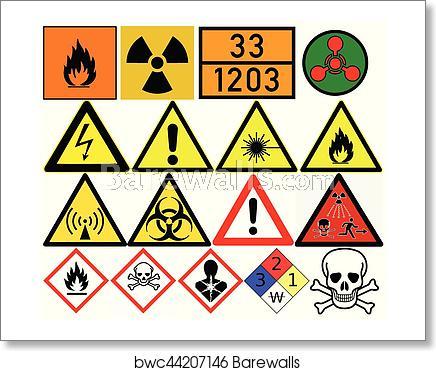 Poison clipart carcinogen. Hazard symbols generic caution