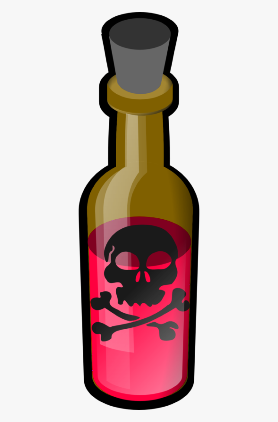 Png download image with. Poison clipart clip art