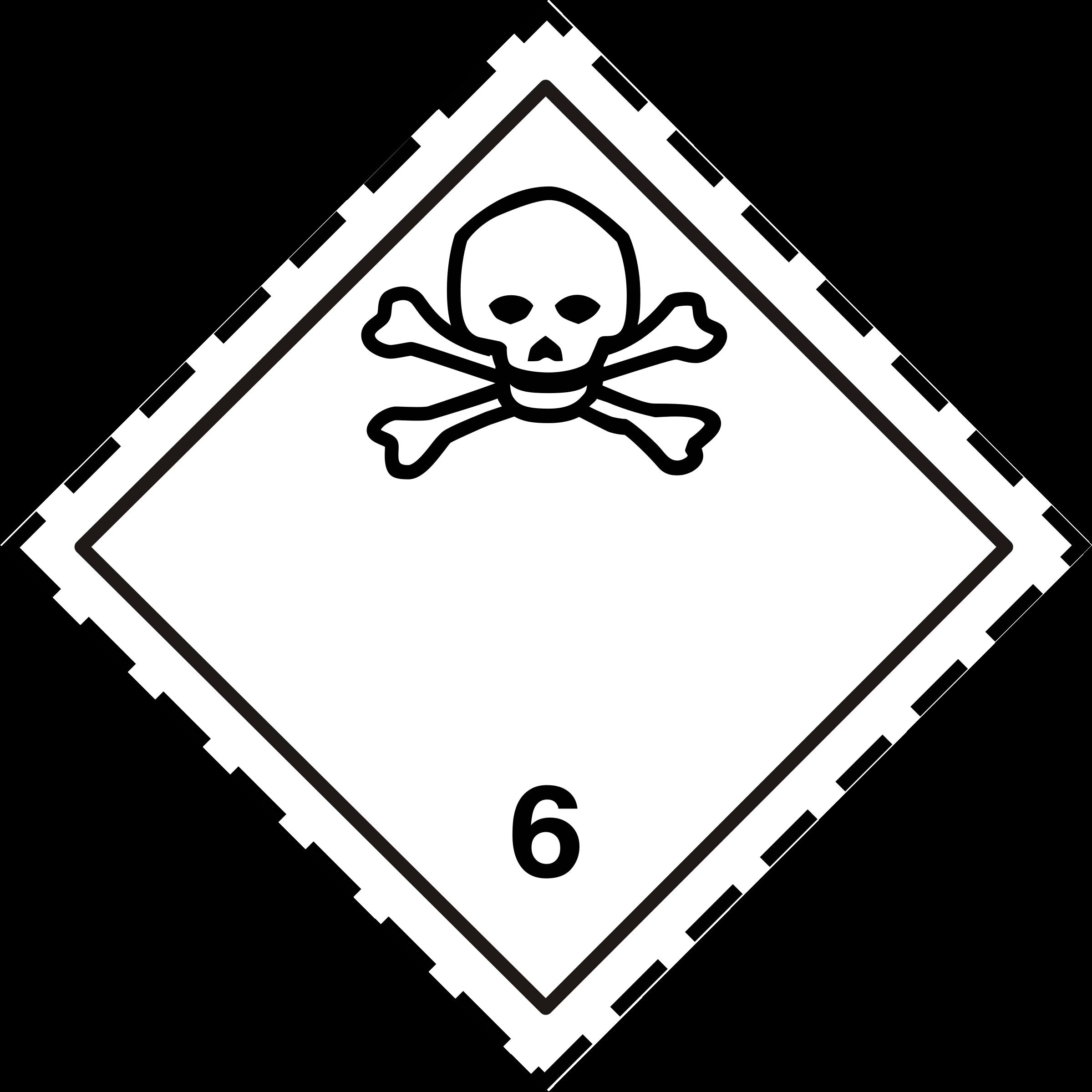 Adr pictogram big image. Poison clipart dangerous chemical