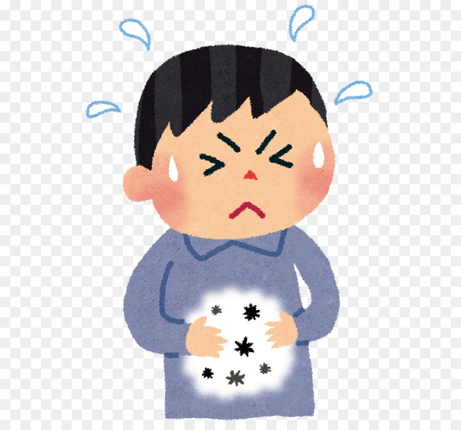 Child cartoon illustration . Poison clipart food poison