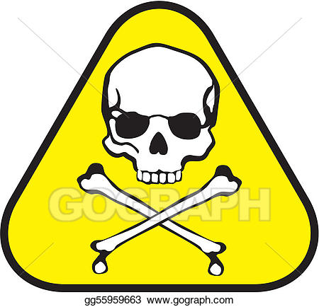 Poison clipart poison label. Vector art drawing gg