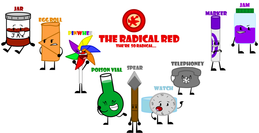 The radical red by. Poison clipart poison vial