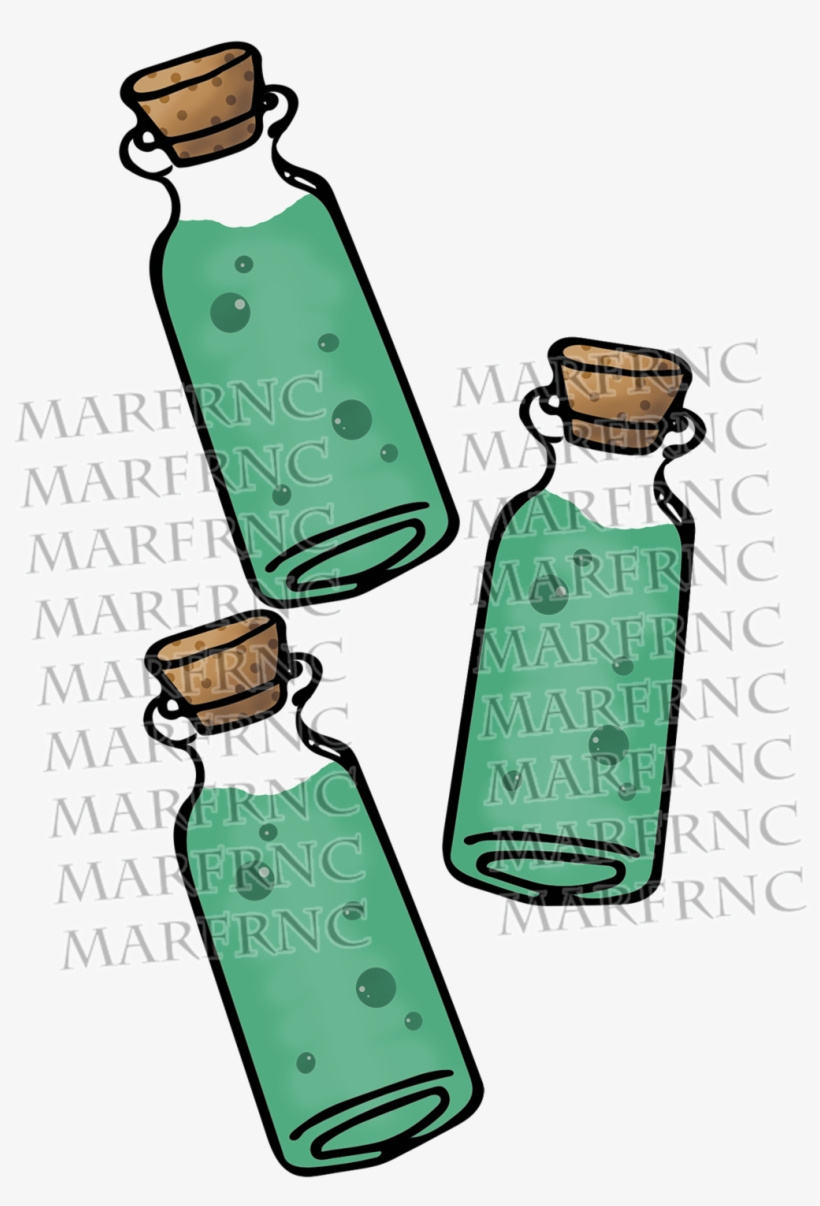 Banner black and white. Poison clipart poison vial
