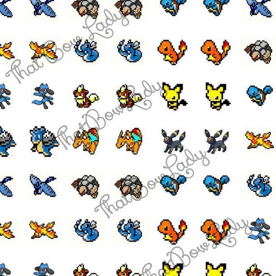 Pokeball clipart 16 bit.  cent sale pokemon