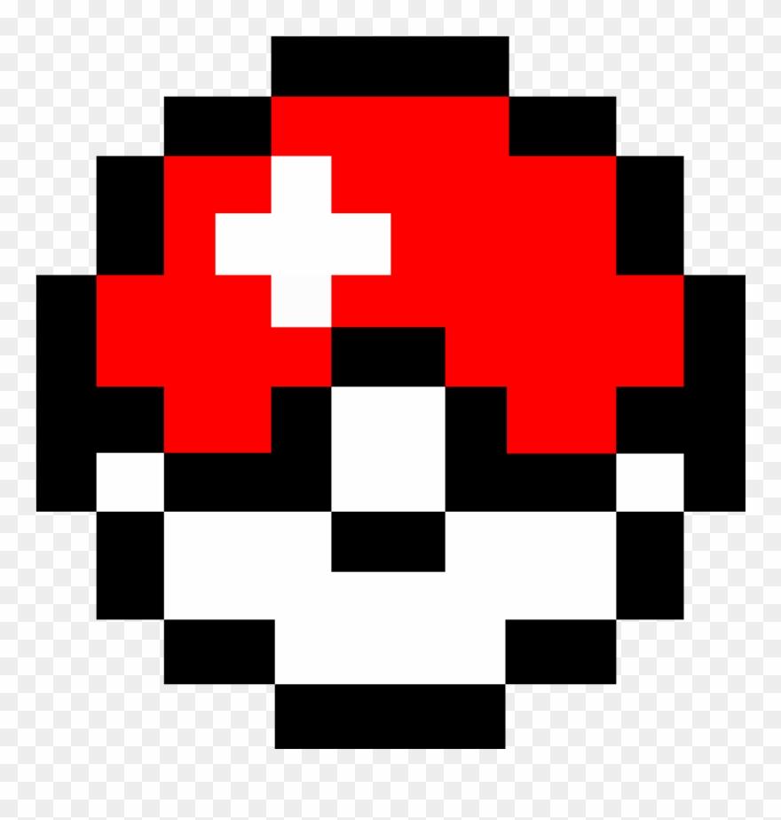 Nerd pokemon pixel clip. Pokeball clipart 8 bit