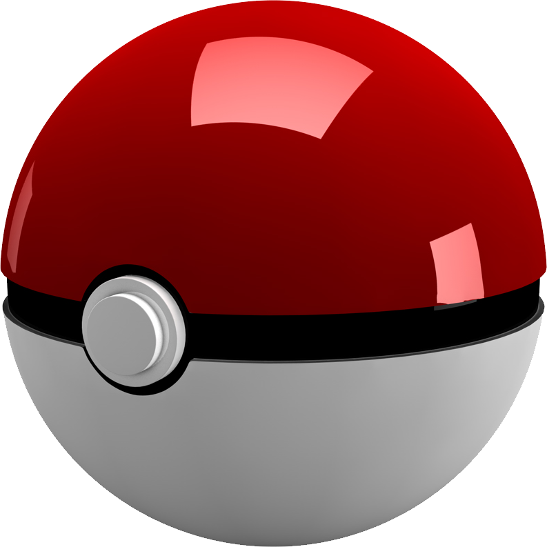 Pokeball clipart anime. Pokemon ball png images