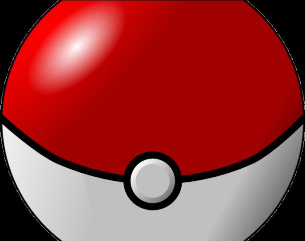 Side ball of pokemon. Pokeball clipart big