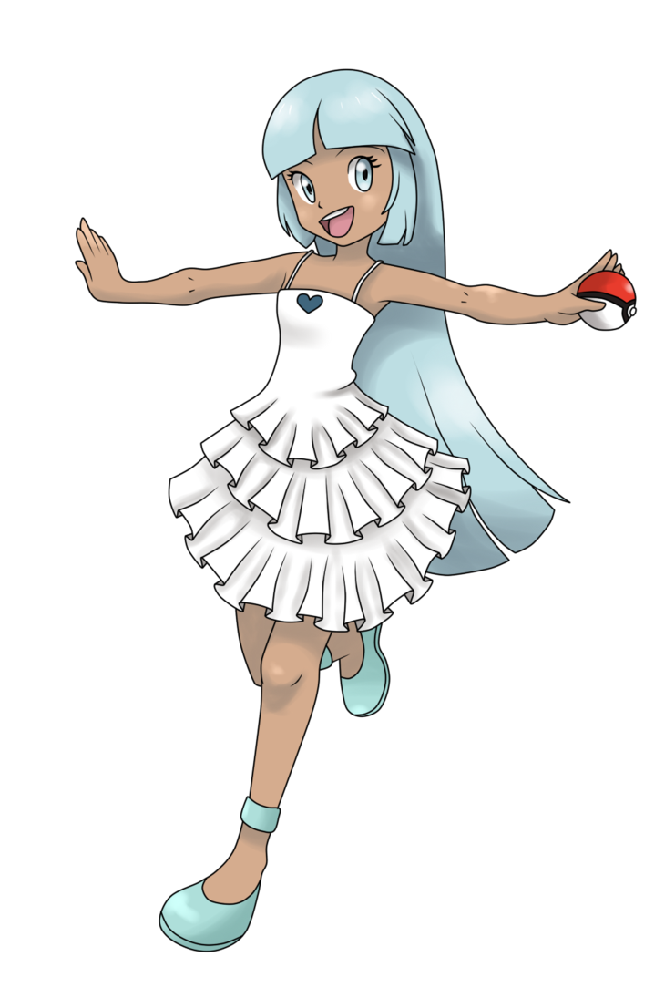 Pokeball clipart blank. Pokemontrainer nana commission by
