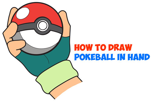 Pokeball clipart character pokemon. How to draw in