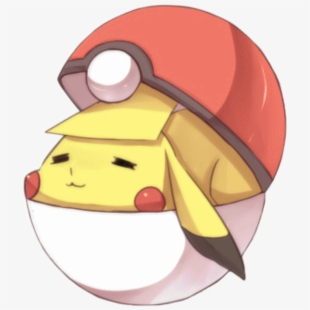 Pocky transparent . Pokeball clipart cute pikachu