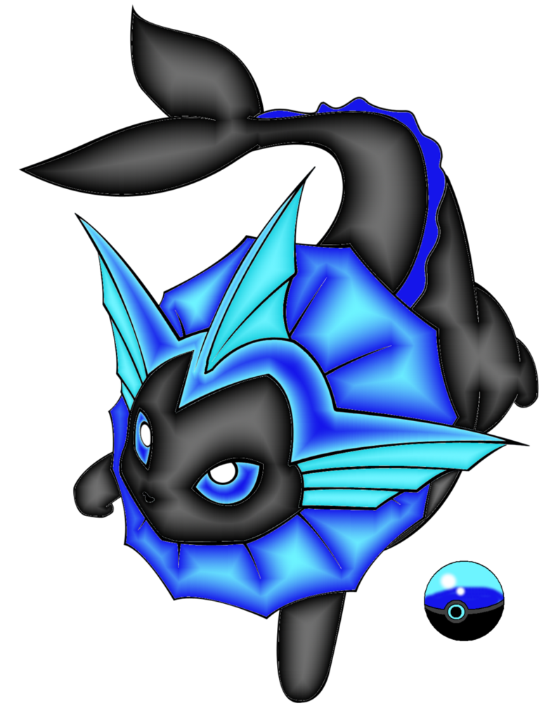 Pokeball clipart electric. Adopt of vaporeon by