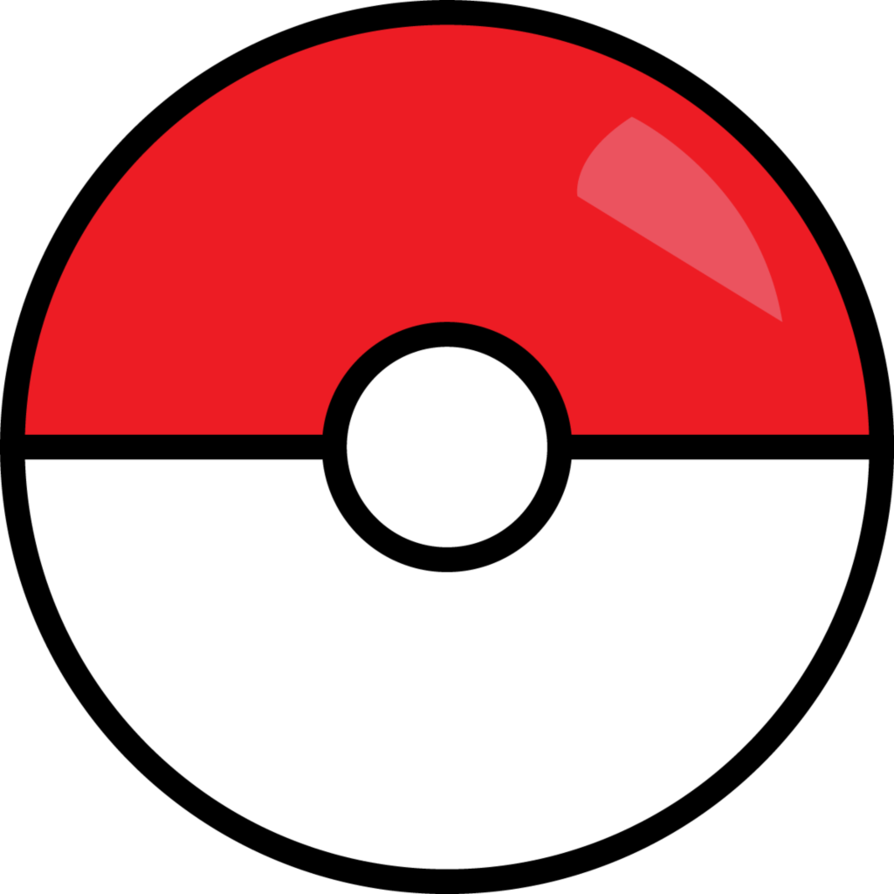 Illustrator by hnnolch on. Pokeball clipart file
