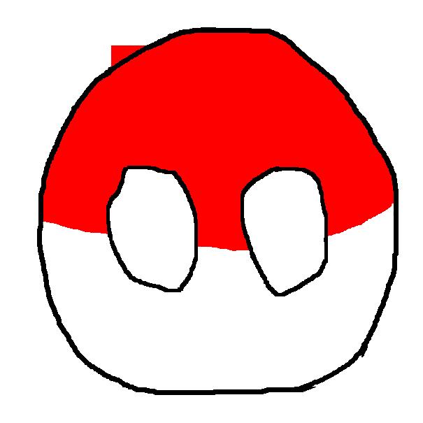 Polandball wikipedia . Pokeball clipart flat