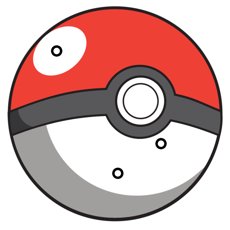 Copy of factory thinglink. Pokeball clipart flat