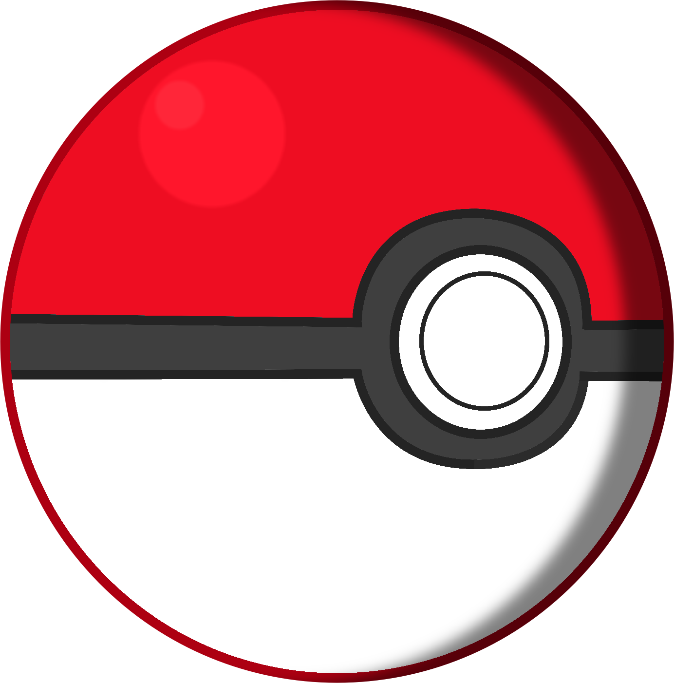 Pokemon ball png images. Pokeball clipart gambar