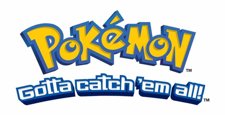 Pokeball clipart gotta catch em all. Pokemon logo png transparent