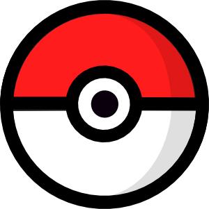 A pokemon data viz. Pokeball clipart gotta catch em all