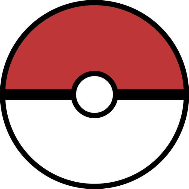 Video game blast off. Pokeball clipart half
