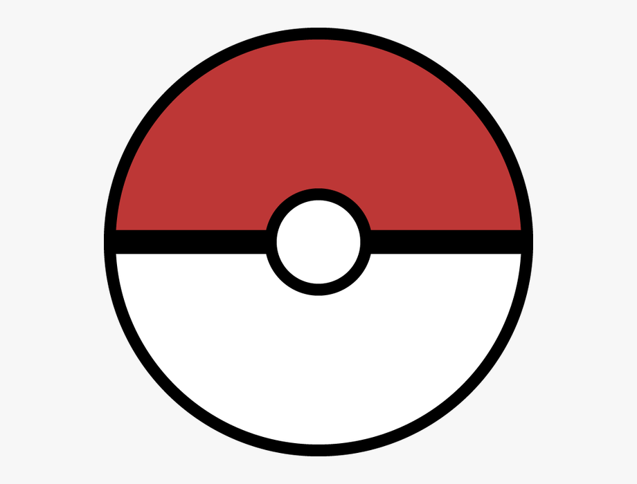 Pokeball clipart line art. Red lineart cliparts cartoons