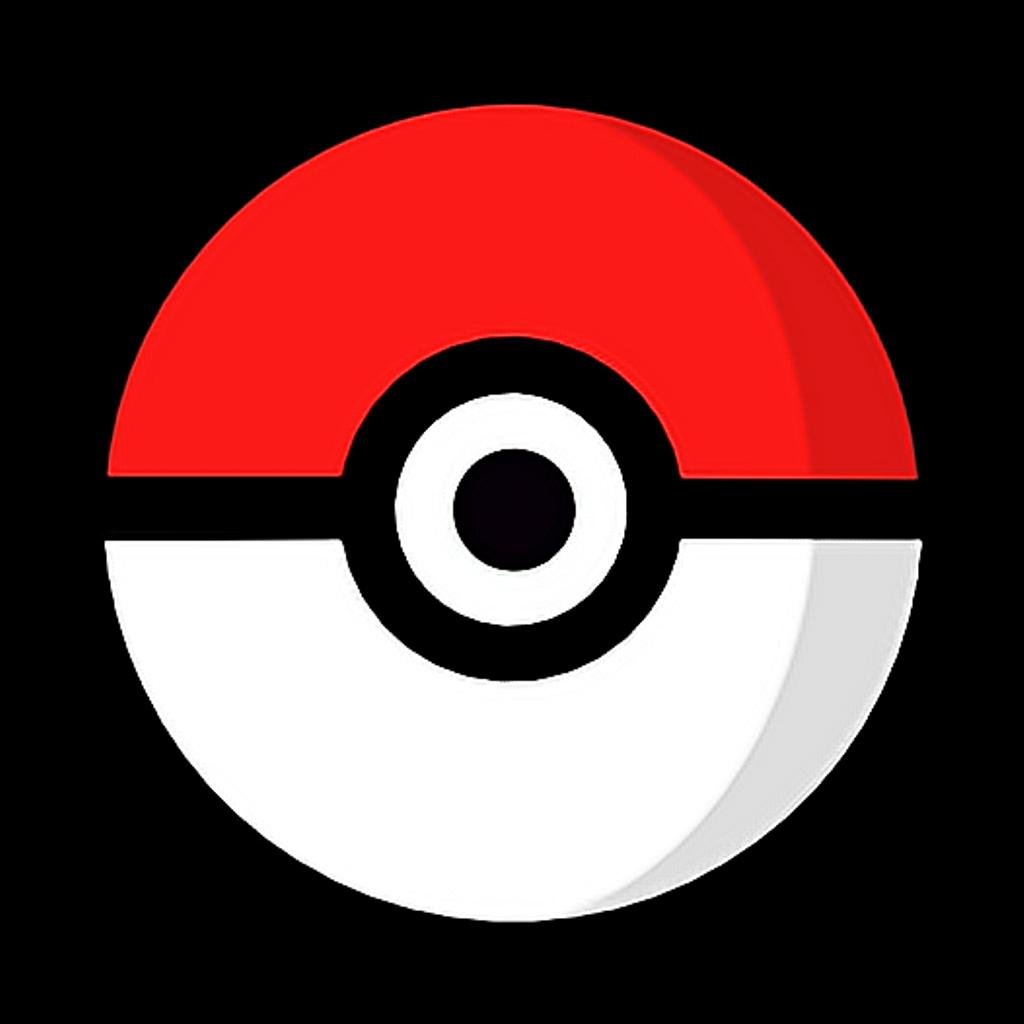 Pokeball clipart logo pokemon. Pok mon ball go