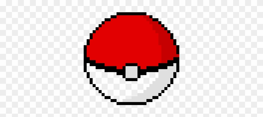 Epic pixel art . Pokeball clipart minecraft