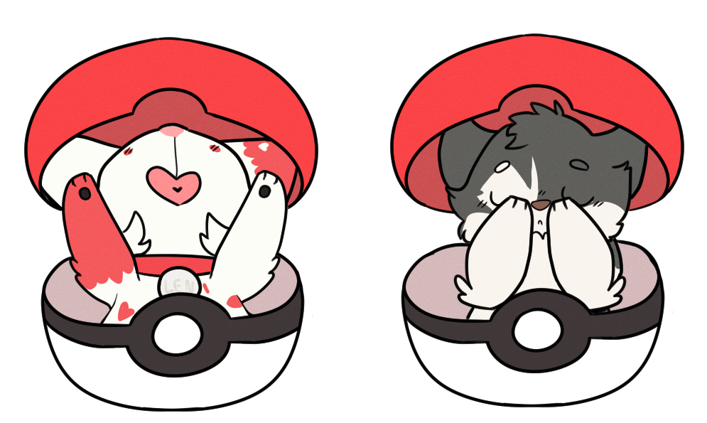 Pocket ych by appltinii. Pokeball clipart net