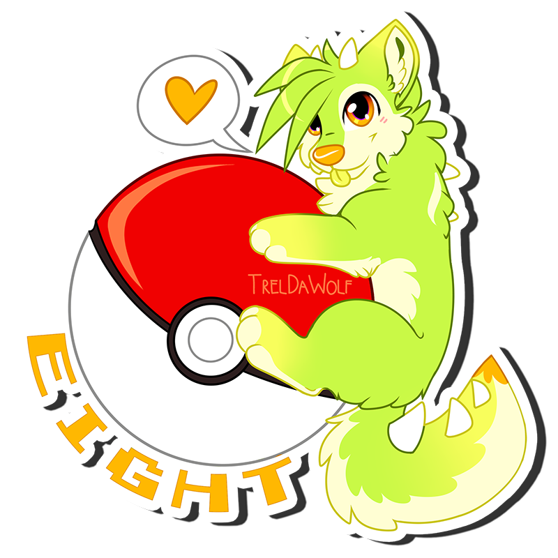 Pokeball clipart open. Sticker badges for comms