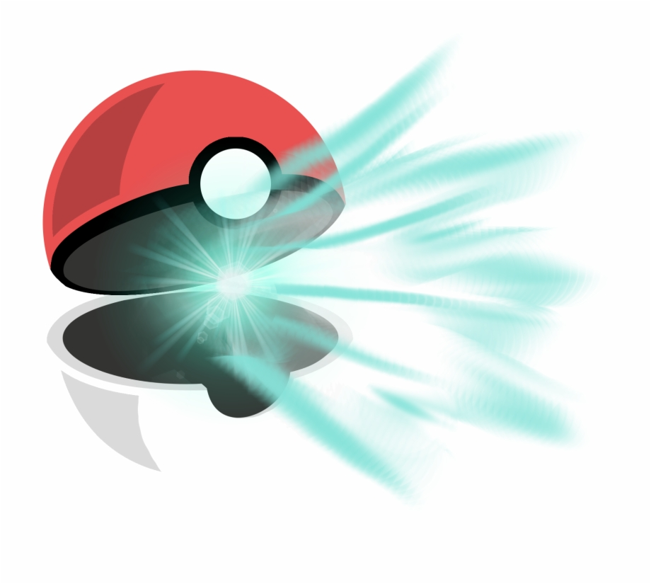 Pokeball clipart open drawing. Download transparent png image