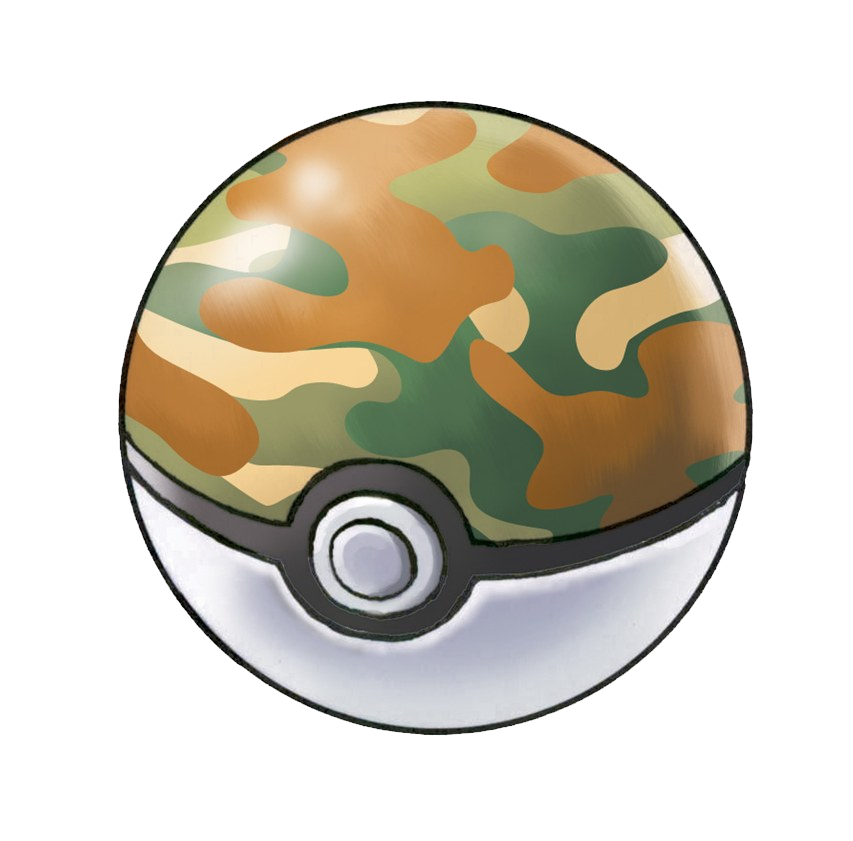 Pokeball clipart original. Image safari ball png