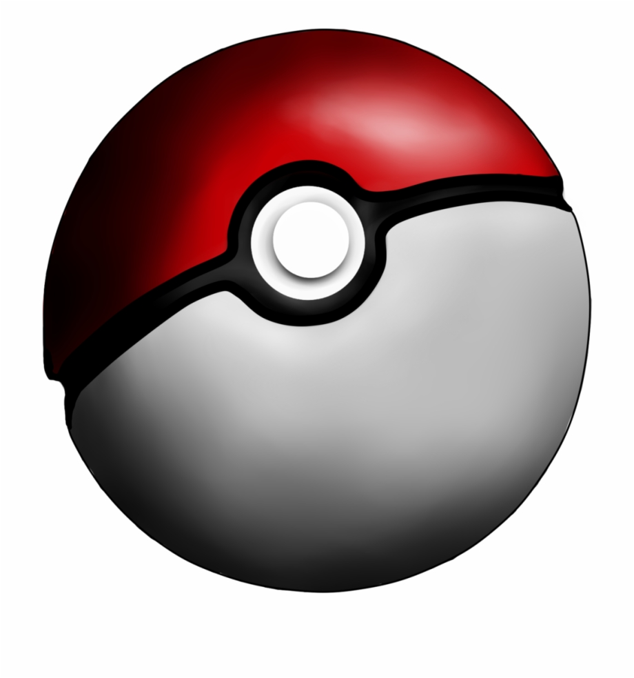 Pokeball clipart original. Pokemon ball transparent background