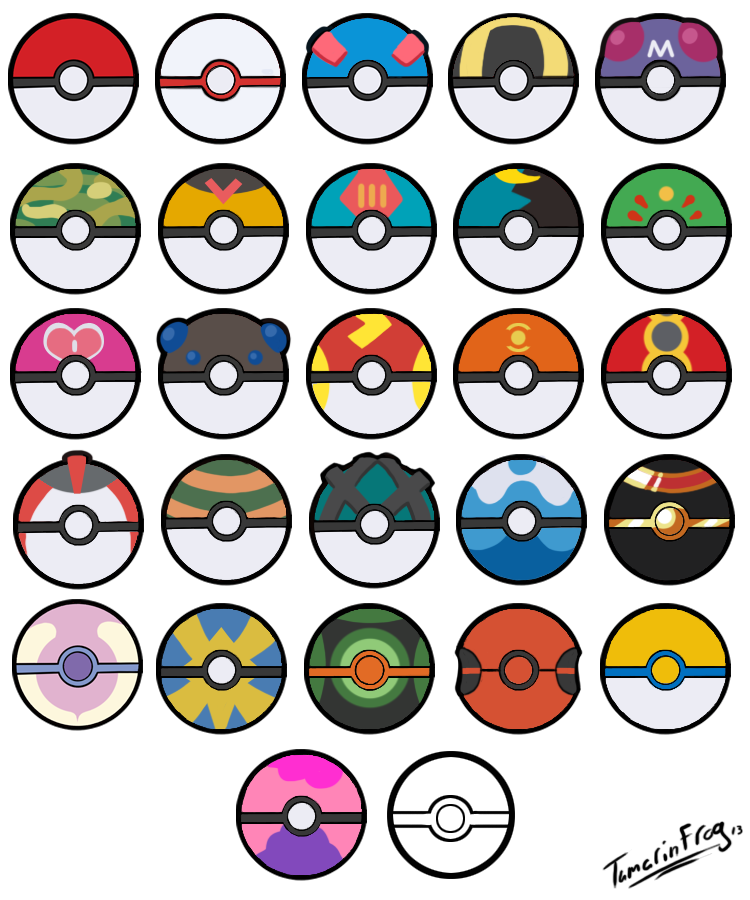 Pokemon ball drawing at. Pokeball clipart outline