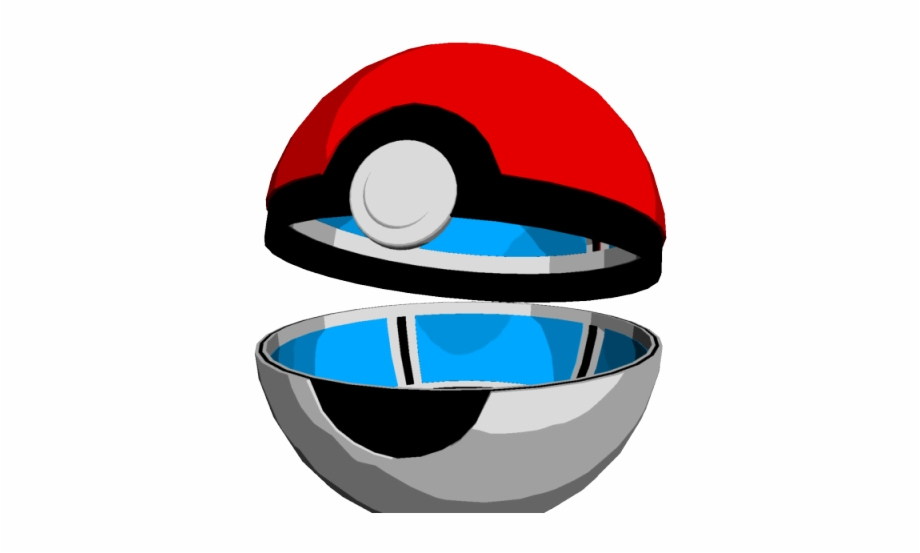 Pokeball clipart pixel pokemon. Opened open ball png