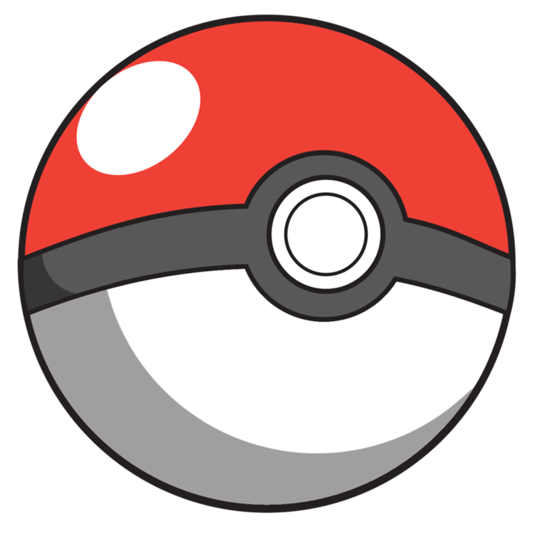 Cartoon transparent png stickpng. Pokeball clipart pokemon free