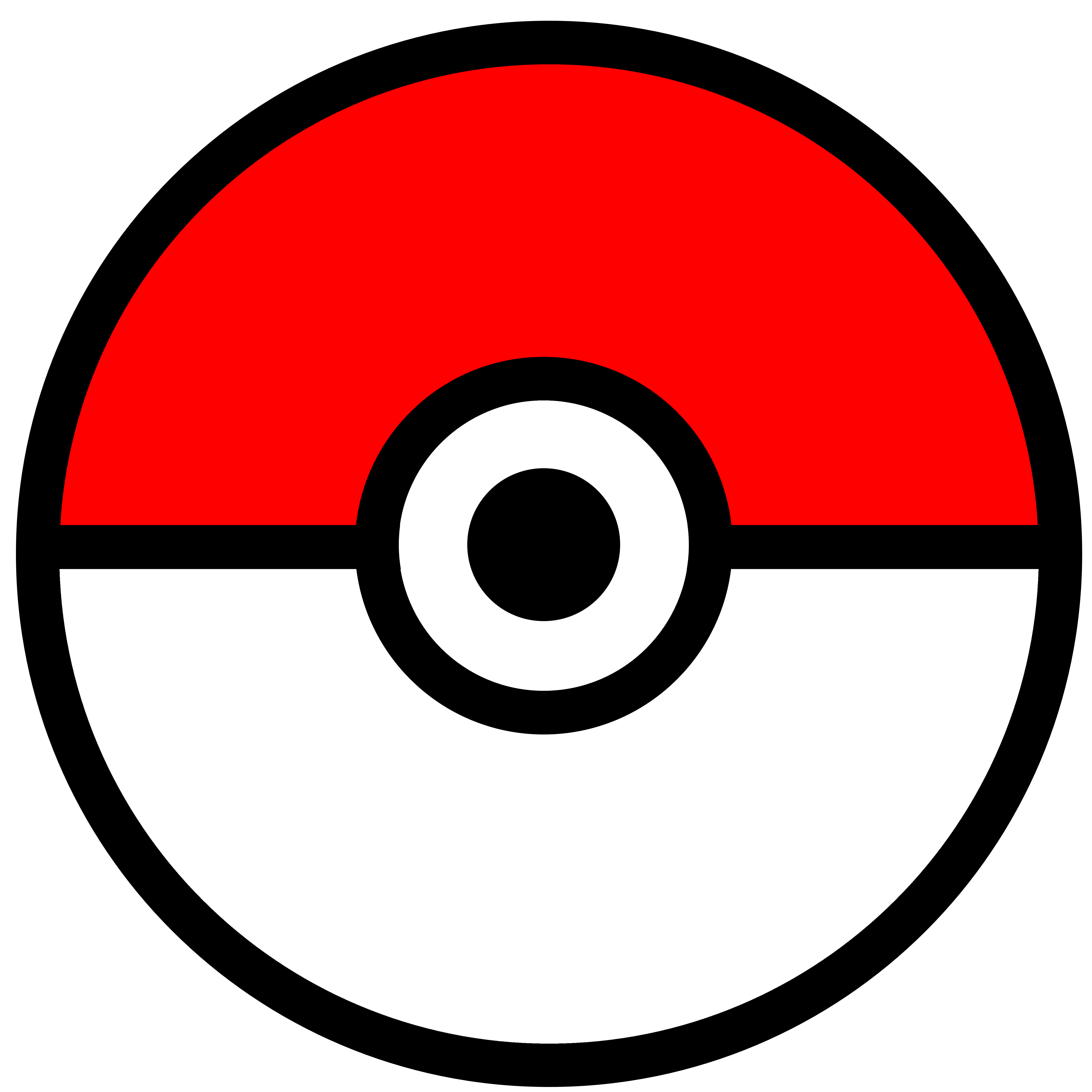 Pokeball clipart pokemon free. Hi res x px
