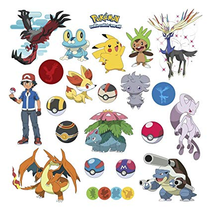 Pokeball clipart pokemon xy. Amazon com wall decals