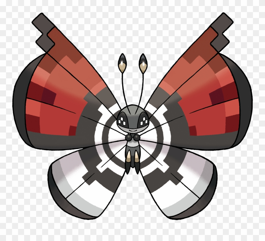 Vivillon png . Pokeball clipart pokemon xy