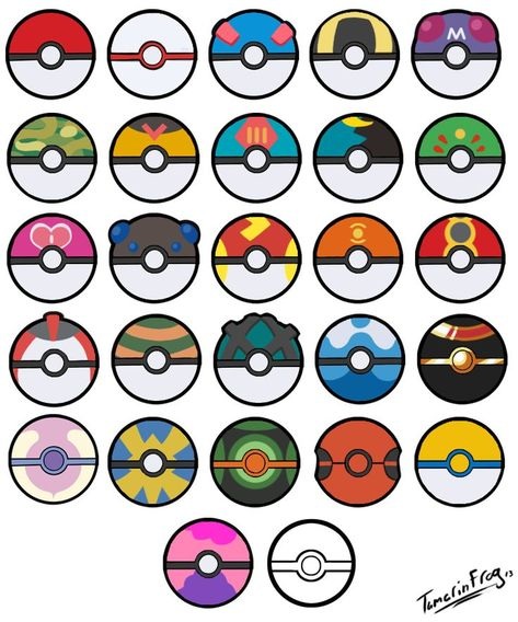 Pokeball clipart printable. Image result for different